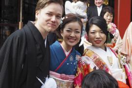 Häät japanilaisittain
