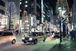 Sapporo – kuin Helsinki kunnon talvena