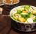 Raikas meloni-leipäjuusto-salaatti